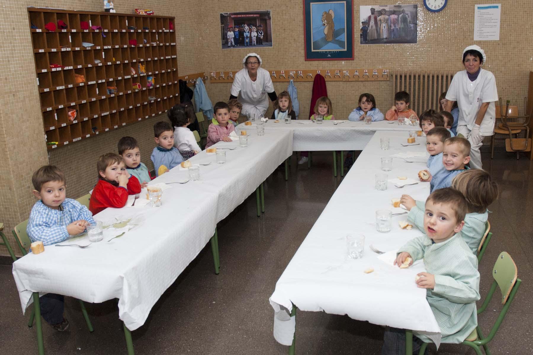 Jornada habitual y comedor escolar cp luis gil for Proyecto educativo de comedor escolar